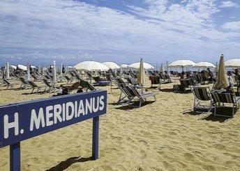 8 napos nyaralás Olaszországban, Lignanóban, a Meridianus**** Hotelben