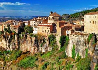 7 napos körutazás Spanyolországban, repülőjeggyel, illetékkel, félpanzióval