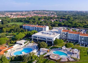 8 napos nyaralás Horvátországban, Isztrián, Medulinban, a Belvedere**** Hotelben