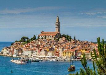 2 napos nyaralás Horvátországban, Isztrián, Rovinjban, a Villa Romantika** Hotelben