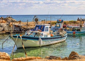 6 vagy 8 napos nyaralás Cipruson, Protaraszban, a Kokkinos Boutique**** Hotelben