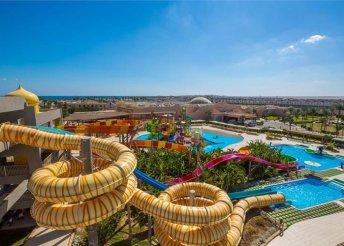 8 napos nyaralás Egyiptomban, Hurghadán, az Aladdin Beach Resort**** Hotelben