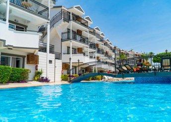 8 napos nyaralás Törökországban, Sidében, a Joker Hill Suite*** Hotelben