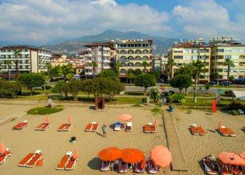 8 napos nyaralás Törökországban, Alanyában, a Wien*** Hotelben