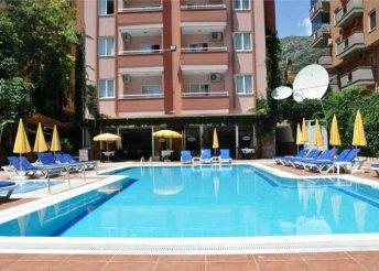 8 napos nyaralás Törökországban, Alanyában, a Fun Point*** Hotelben
