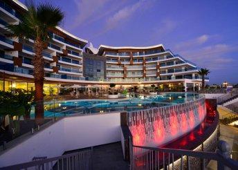 8 napos nyaralás Törökországban, Alanyában, az Elite Luxury Suite And Spa***** Hotelben