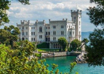 3 napos kirándulás Triesztbe és a Postojnai-cseppkőbarlanghoz, busszal, 3*-os szállással, reggelivel