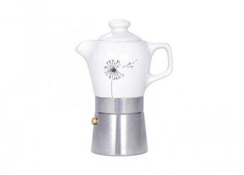 Fatima szarvasi kávéfőző 2 személyes, porcelán 'Édes Kettes'