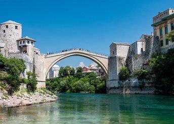 4 napos buszos körutazás Bosznia-Hercegovinában, 3*-os szállásokkal, félpanzióval, idegenvezetéssel
