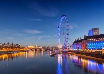 4 napos városnézés Londonban, repülőjeggyel, illetékkel, 3*-os szállással, reggelivel