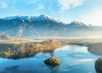 5 napos kirándulás Szlovéniában, az Alpok napos csúcsaihoz és mesés tavaihoz