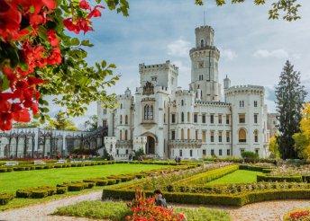 4 napos körutazás csehországi kastélyok érintésével, busszal, reggelivel, 3*-os szállással