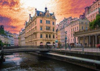 4 napos körutazás Csehországban, Prágában, Karlovy Vary-ban, busszal, reggelivel