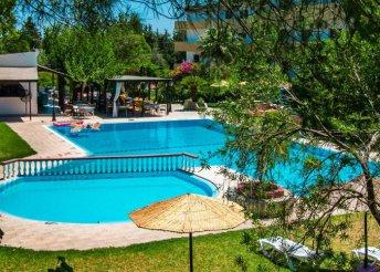 8 napos nyaralás 2 személyre Rodoszon, az Achousa*** Hotelben, félpanzióval