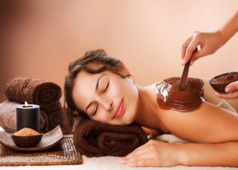 Csokoládés masszázs teljes testre tápláló arcmasszázzsal 120 percben a Green-Gold Day Spában