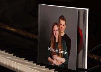 Páros vagy családi fotózás 26 oldalas fotókönyvvel, 100 db digitális és 16 db retusált fotóval