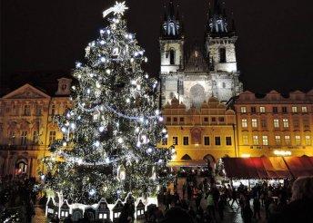 3 napos advent Prágában, buszos utazással, reggelivel, 3*-os szállással, idegenvezetéssel
