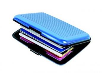 Alumínium kártyatartó több színben - tárold kártyáidat praktikusan és biztonságban!